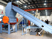 Brand new waste plastic agriculture film washing and granulating recycling machine line