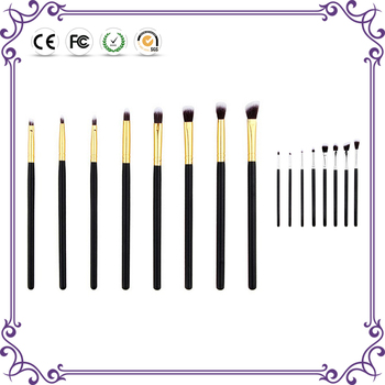 Multifunction bake angled precision kit 8 brushes basic eye set for makeup
