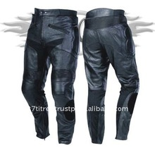 Buffalo Leather Cow Hide Motor Cycle Trousers