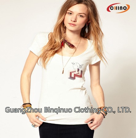 Factory Price Custom 70% Polyester 30% Cotton T-shirt Supplier