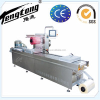 DZR420 top class automatic thermoforming gas flushing Meat Vacuum Packing Machine