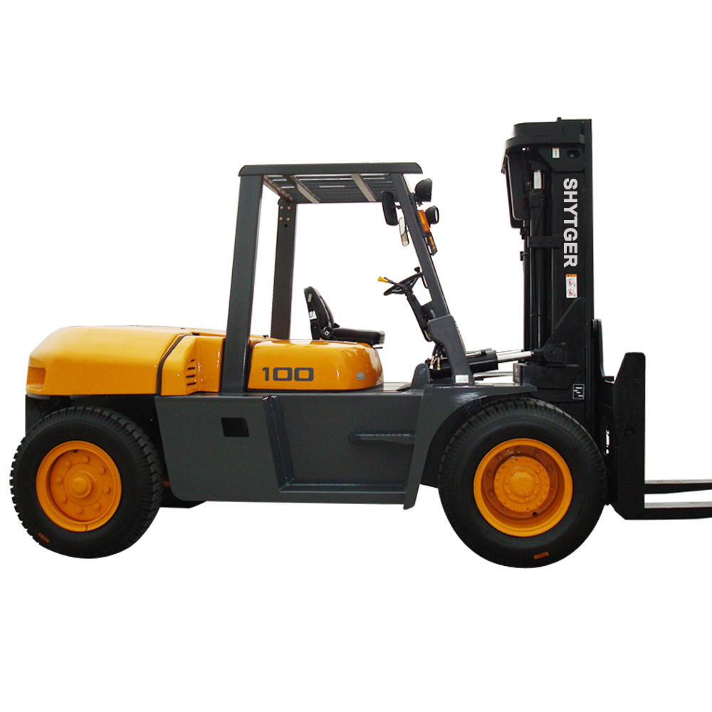 SHYTGER Forklift Paper Roll Clamp Used 10Ton Hydraulic Diesel Forklift forklift For Sale In Singapore
