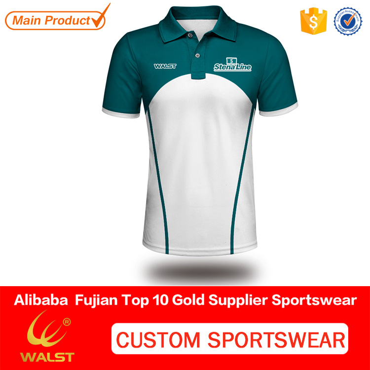 OEM non brand sublimated polo printed shirts for team players