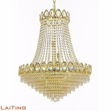 Luxurious crystal K9 chandelier pendant lamp for living room 71055