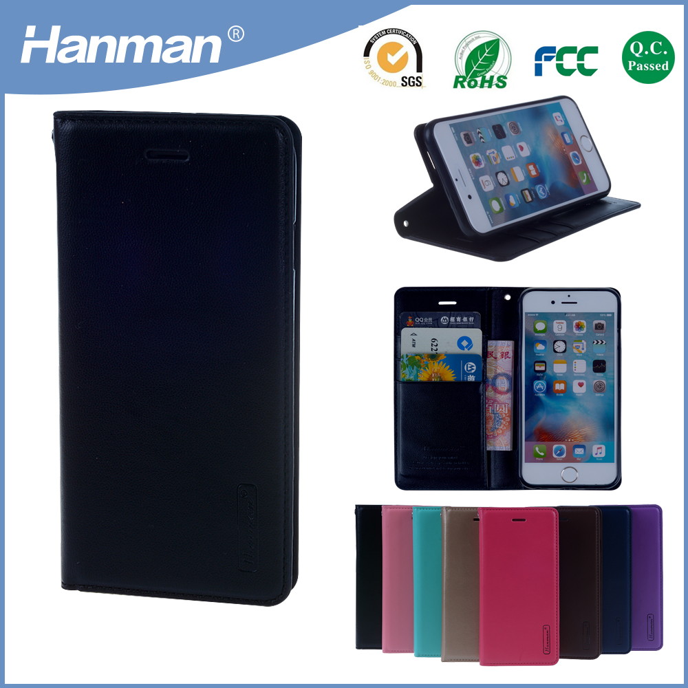 High quality new design card slot pu leather cellphone case for apple iphone5 case
