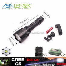 T6 /10W-2000 Lumens, Hunting Tactical Flashlight Torch
