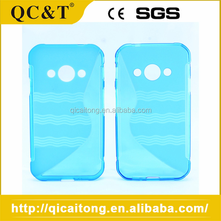 Factory Supply Fashion S Line Tpu Cell Phone Case For Samsung N9000/NOTE 3