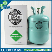 Sell refrigerant gas R134A OEM brand with purity 99.99%