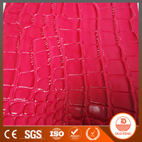 54'' wide double color embossed pvc leather