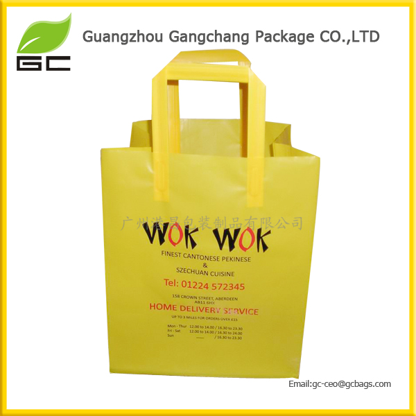 china supplier recycled plastic tote bags shopping bag wholesale