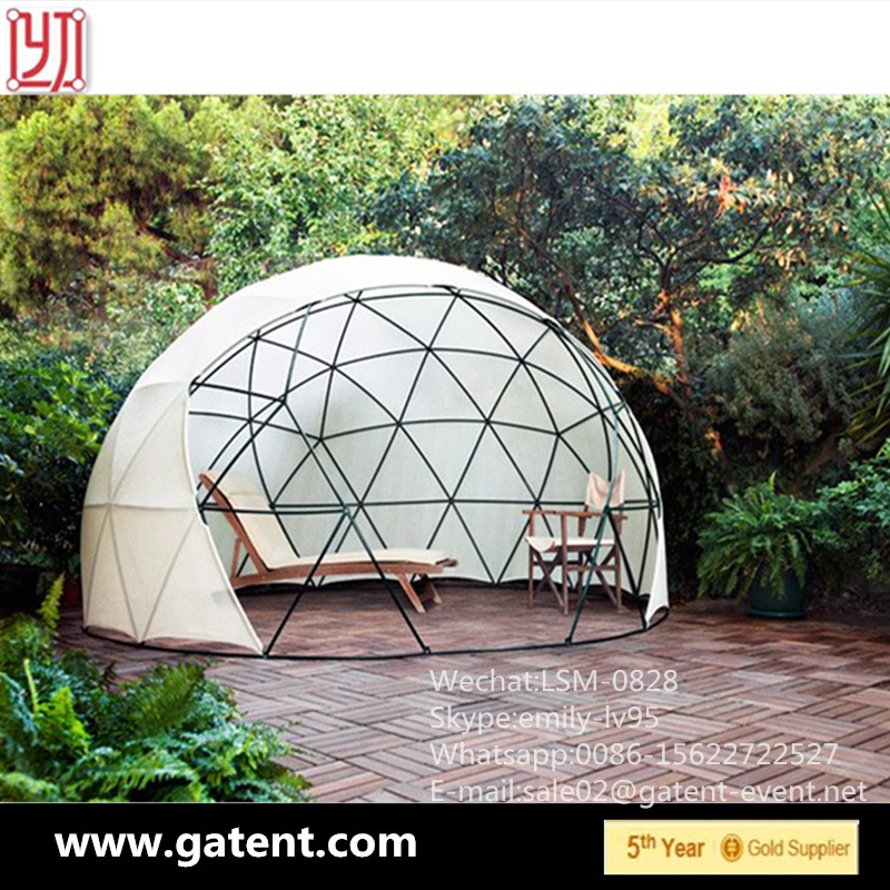 Wholesale Semi-permanent 10m Diameter Geodesic Dome Tent
