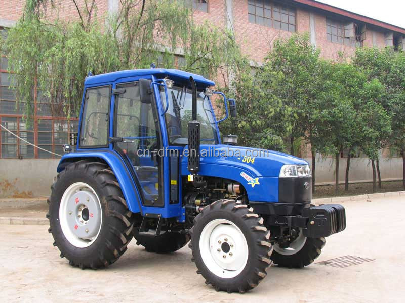 Chinese dongfeng brand farm tractor with front end loader