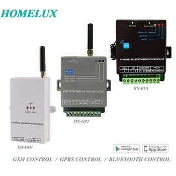 GSM Gate Opener 2G/3G APP Control 1 Channel And 2 Channels GSM SMS Remote Control Switch GSM Free Phone Call Gate Opener
