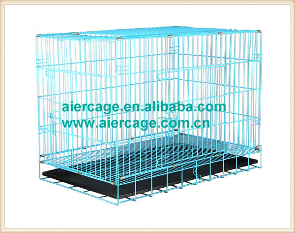 Pet cages folding wire large medium dog cages and kennels