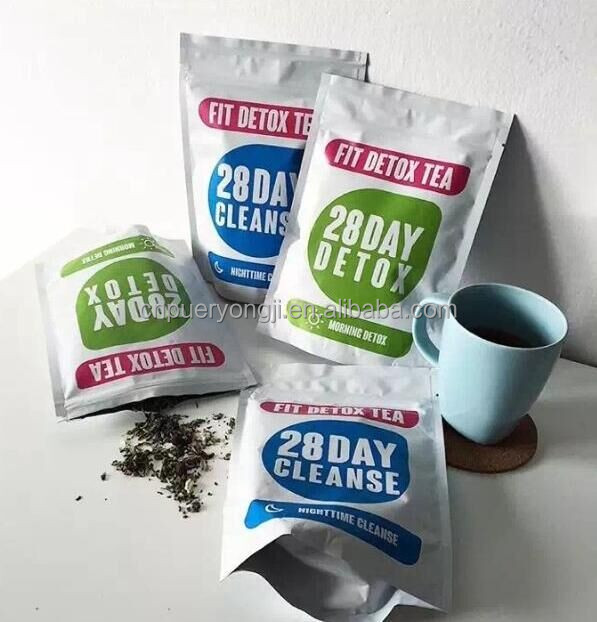Private Label Service 14 days Infusions Morning Boost Flat Tummy Detox Tea