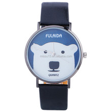 2017 Polar bear leather wrist watches lady watch kid watch