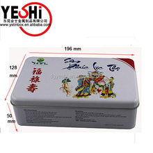 new design rectangular tin box tin box for band-aid medical treament packaging wholesale