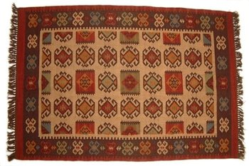 Hand-Made Flat Woollen New & Antique Kilims