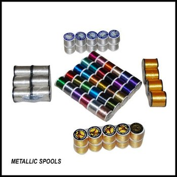 METALLIC YARN SPOOLS
