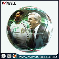 custom logo printing champions league soccer ball official pu