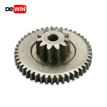 Customized high precision stainless steel sintered dual spur gear