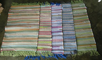 stock of paper chindi rugs