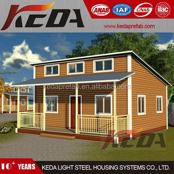 Hot selling prefabricated townhouse sandwich panel light steel villa house steel kit home studio office
