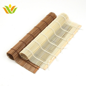 Carbon Color Rolling Bamboo Mat For Sushi