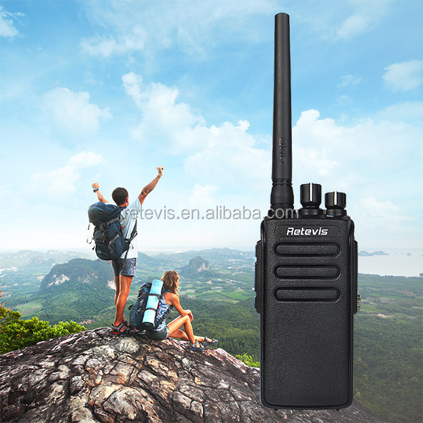 2017 launch 10W IP67 Waterproof Dustproof DMR High Power 32CH UHF Encryption Digital/Analog Modes Two Way Radio Retevis RT81