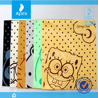 Customized Logo Printed Microfiber Lens Cleaning Cloth