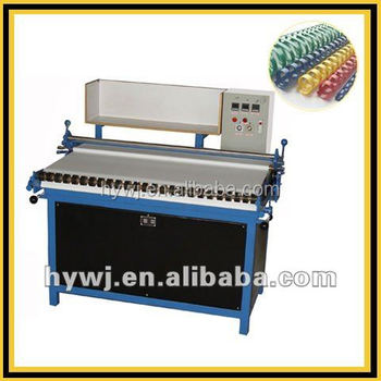 CRM-050 manual plastic comb forming machine,binding comb making machine