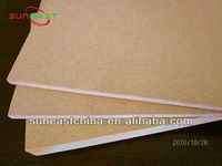 glossy white fiberboard medium density fiberboard
