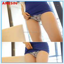 AMESIN seamless popular 3D cute kitty lovely girls underwear satin panties