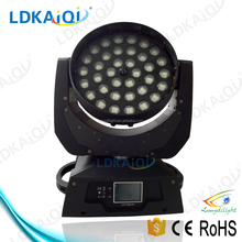 36*10W RGBW quad 4in1 led movie head,zoom moving head wash light