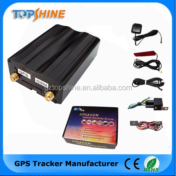 650mAh Inbuilt Rechargeable Battery Auto Tracking In Time Interval Free Tracking Software Android APP GPS Tracker (VT200)-S