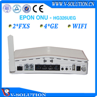 4LAN+2POTS+WiFi GEPON ONU VoIP Gateway Wireless Router Fiber Optical ONU IPTV Set Top Box with CE Certification Made in China