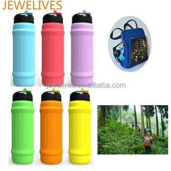 New products looking for distributor silicone wide mouth water bottle
