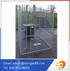 Wholesale Galvanized large dog kennel DIY Chain Link Boxed dog Kennel