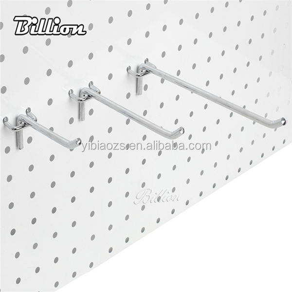 Shop fitting display hook metal hook hanging peg board display hook