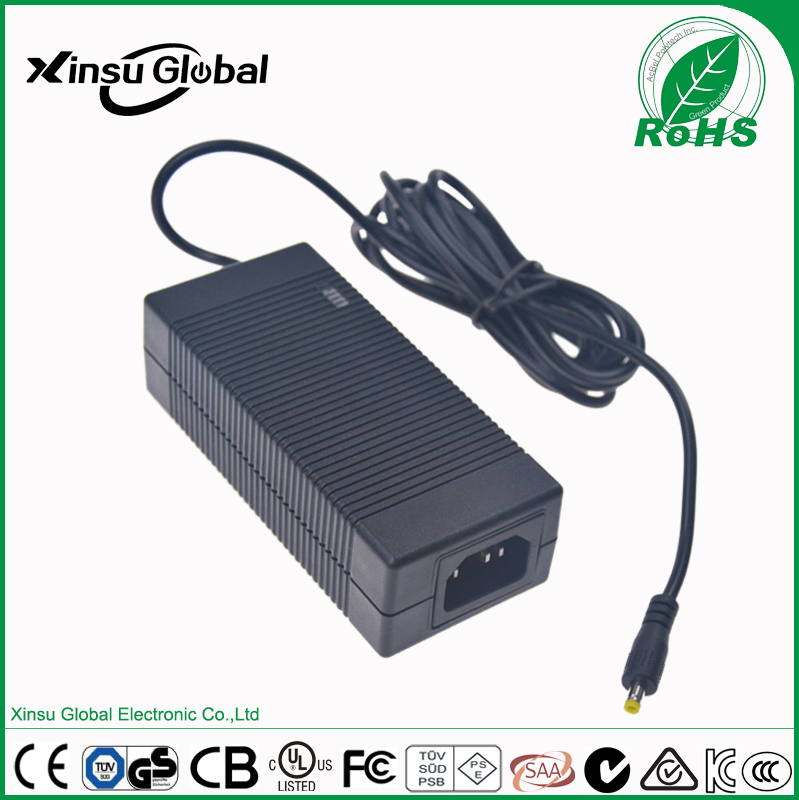 PSE listed 25.2V 2A lithium ion battery charger for 6 cell lithium battery