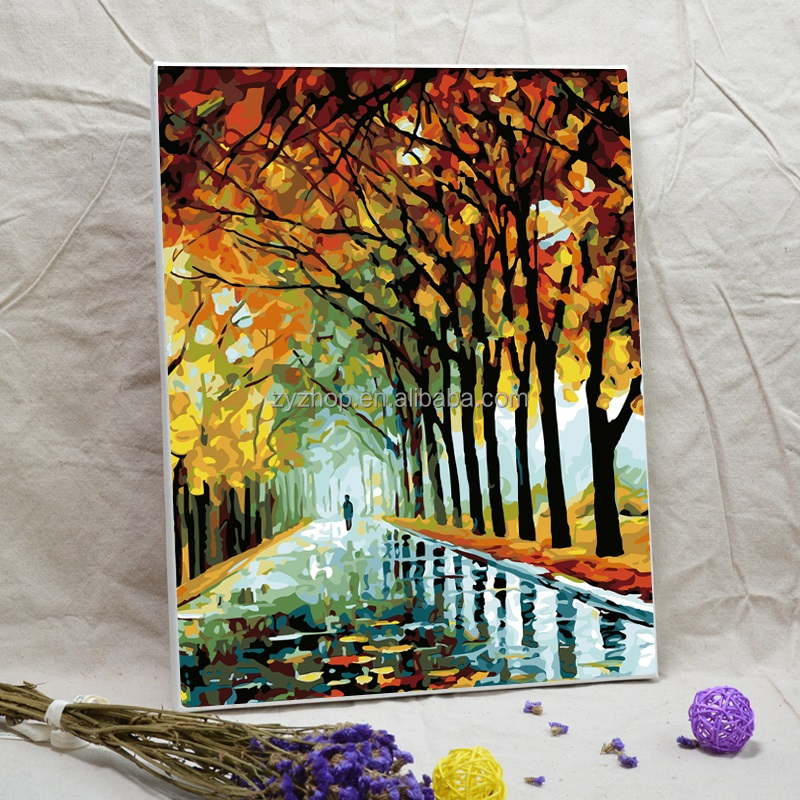 <strong>Art</strong> and craft paintings canvas wall decorative picture oil painting by numbers