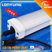 High quality!! IP65 Tri-proof LED Light 60w 12volt lamp tube 150cm 5ft 50w 12v led driving lights