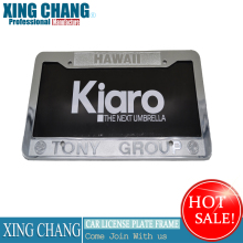 America custome plastic Car License Plate Frame