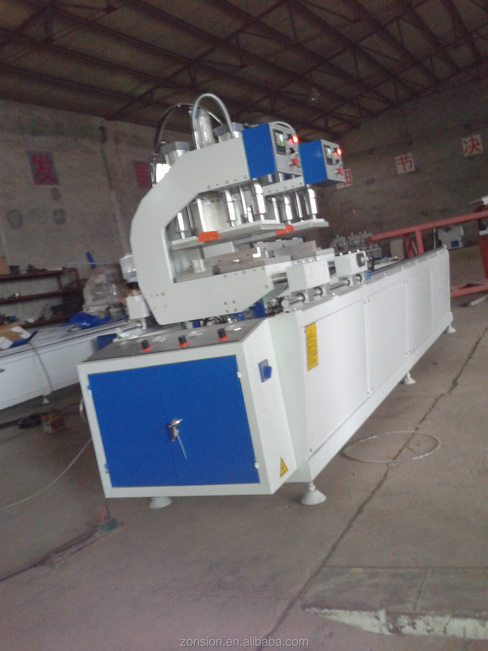 PVC Door Window Profile Production Line/PVC Profile Making Machine/Plastic Door FramWith CE Certificate Complete Production