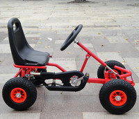 Pedal go kart kids gas wheels cheap racing go kart for sale