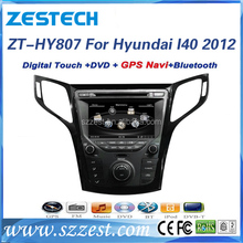 Factory touch screen dvd/gps, mp3 player/1080P/10disc/radio for hyundai i40 car audio