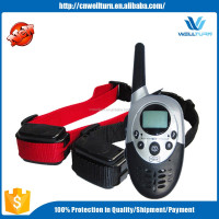 Rechargeable Dog Training Shock Collar Electronic Shock Training Collar With Remote Shock Vibration Correction
