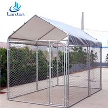 Reasonable price Professional supplier factory cheap round post chain link dog kennel fence