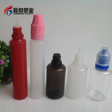 Logo Printed Drop Liquid Bottles 20ml PET Eye Drops Container