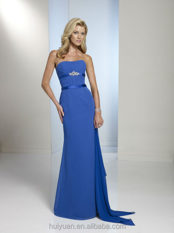 royal blue sleeveless chiffon full length beaded beautiful pictures of ladies gown